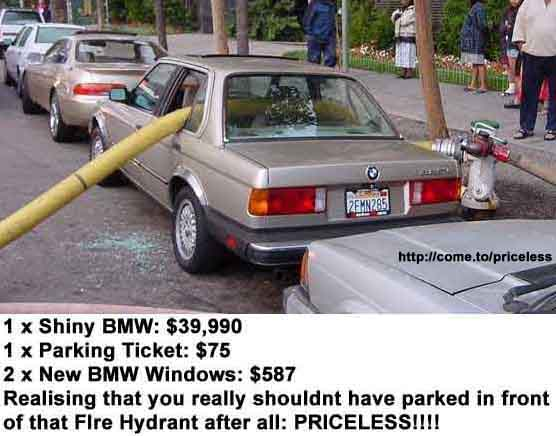 Priceless - BMW