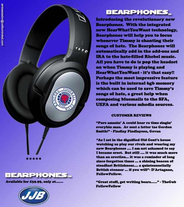 BEARPHONES