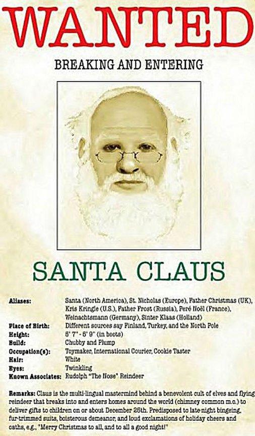 Wanted - Santa