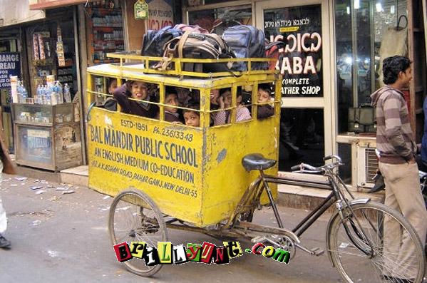Indian  School Bus